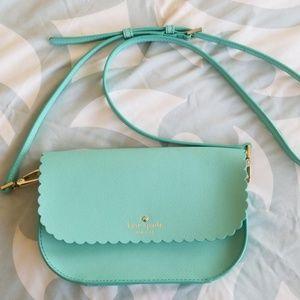 kate spade scalloped crossbody purse